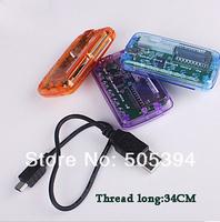 100pcs/lot free shipping Smart Card reader,USB1.1 Card Reader,Memory Card Reader