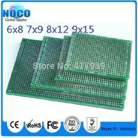 20pcs 6x8 7x9 8x12 9x15 cm double Side Copper prototype pcb Universal Board for Arduino Free Shipping Dropshipping