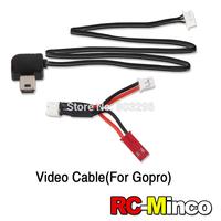 QR X350 PRO-Z-15 Original Walkera  Camera AV Output Adaption Cable for Walkera QR X350Pro FPV Gopro Hero 3