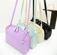 2014!New women's handbag women messenger bags PU leather bag women's single shoulder bag free shipping