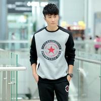 2015 Famous Brand sports suits shirts+ pants for men good quality Sweatshirts fashion casual Coat M-3XL