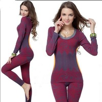Ms modal seamless body underwear warm suit thin section shape render long Johns female bag mail shirt