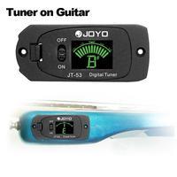 Chromatic Digital Guitar Tuner For Electric Guitar JT-53 Digital Tuner W/Screen