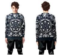 Hot 2015 Warm Christmas Men Women's Sweatshirt Pullover Sweater Hoodies Jumper Tops Free Shipping