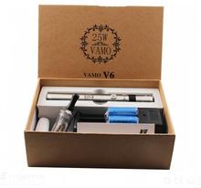 5 pcs New Vamo V6 Mod 20W with Power Bank Variable Voltage & wattage 3.0W ~ 20.0W /1.0~5.0ohm e-cigarette vamo v5 v6 starter kit