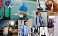 2015 Variety Of suspenders clip spaghetti strap elastic casual suspenders mens suspenders