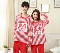 Happiness mink cashmere pajamas male couples celebrate Ms. tracksuit suit