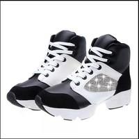 2015 women's sneakers shose High help shoes woman running sport shoes