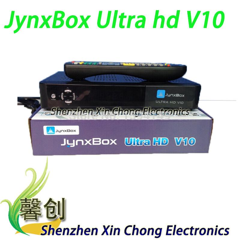 new 2014 JynxBox Ultra HD V10 fta hd receiver tv box Wifi usb dongle Jynxbox v10 fta satellite receiver for North America(China (Mainland))