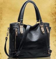 Famous Brands Handbags 2014 Hot Women Genuine Leather Bags Women Handbag Fashion Vintage Bag Shoulder Bags Portable Bag BK052