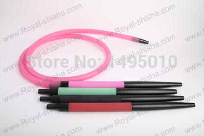 new design different handle hookah hose shisha hookah silicone hose(China (Mainland))