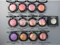 (1pcs/lot ) New makeup brand 12 colors makeup mineralize blush 3.5g Free shipping