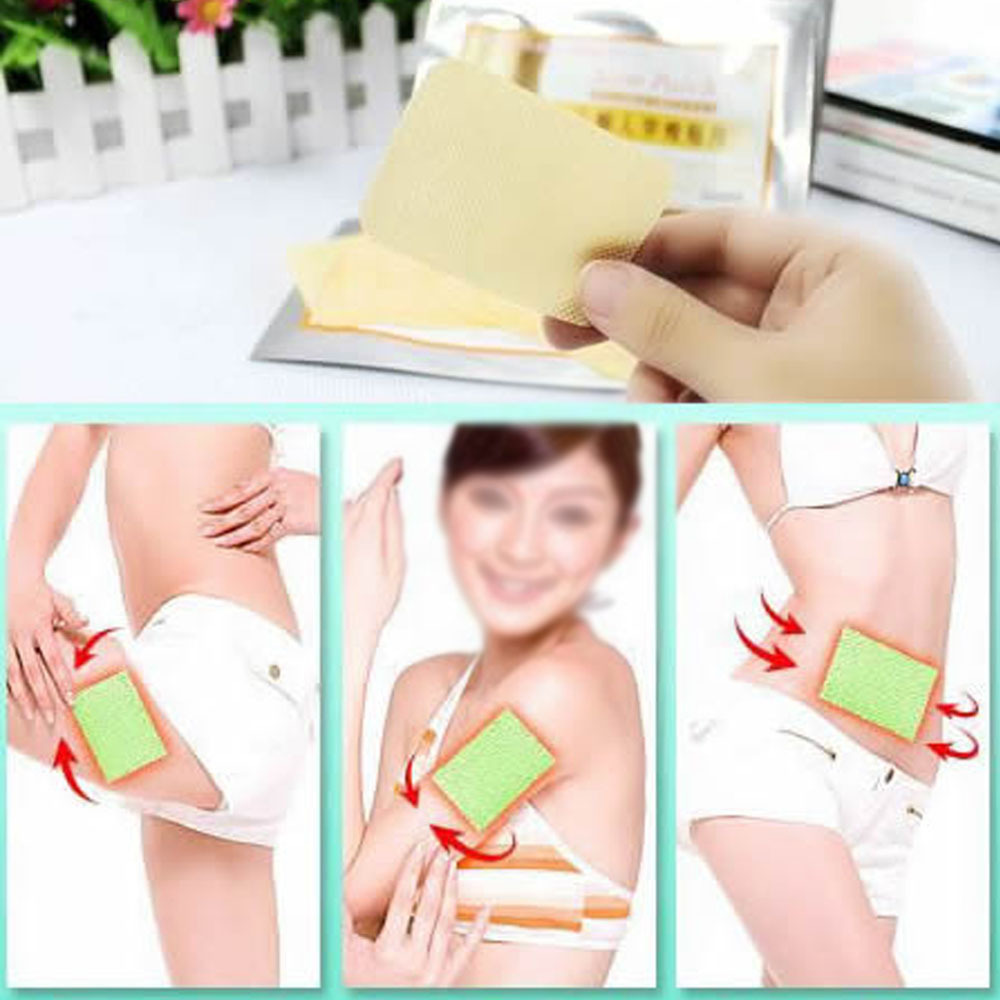 New Effective 100pcs Sleeping Fat Burning Patches Loss Weight Diet Patch Slim Trim Patches E CH