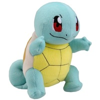 """Pokemon X Y  Tomy Soft Plush Toy Figure 10"""" Squirtle NWT *New 2013*"""
