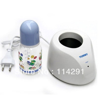 100% Brand New High Quality Baby Bottle Milk Warmer Thermostat Heater Random color+Free Shipping