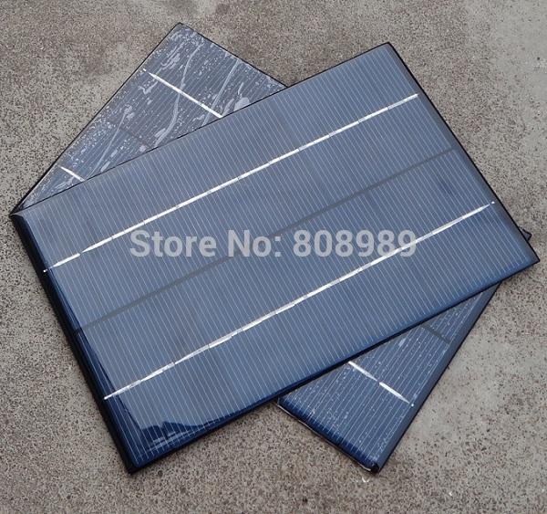 HOT Sale 4.2W 18V Solar Panel/Polycrystalline Silicon Solar Cells DIY Solar Module For Solar Power System 6pcs/lot Free Shipping(China (Mainland))