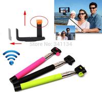 3pcs/lot Extendable monopod tripod Self Selfie Stick Handheld Monopod + Clip Holder+ Bluetooth Camera Shutter Remote Controller