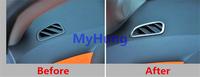 Carbon fiber sticker air condition vent outlet Ring decoration trim for Chevrolet cruze