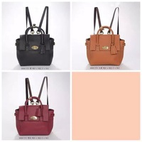 2014 brand name women natural leather Mini Cara Delevingne Bag fashion backpack NO.2928-173