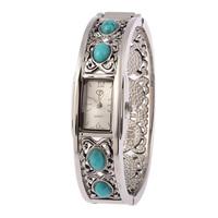 Free Shipping Luxury Women's Stainless Steel Bracelets Watch Women Quartz Watch