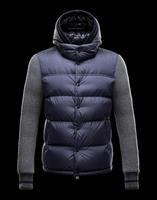 Free Shipping Winter Jacket Men White Duck Down-jacket Cotton Warm Parka Men Outdoor Ski Coats Men's Clothing
