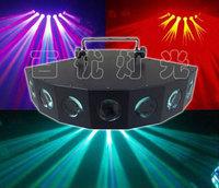 Eight head of led beam light, stage lighting, audio KTV bar wedding effect light laser light show