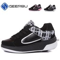 Child heelys Jazzy Junior girls boys heelys roller shoes for children EU Size 33-40 heelys wheel shoes skate roller shoes TX1000