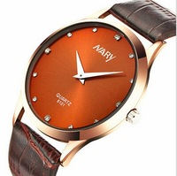 Listed On The new Fashion NARY Brand Watch Men Leisure Clothing Belt Watch Quartz Watch