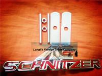 5sets/lot automobile front hood grill badge car grille AC logo emblem with screws