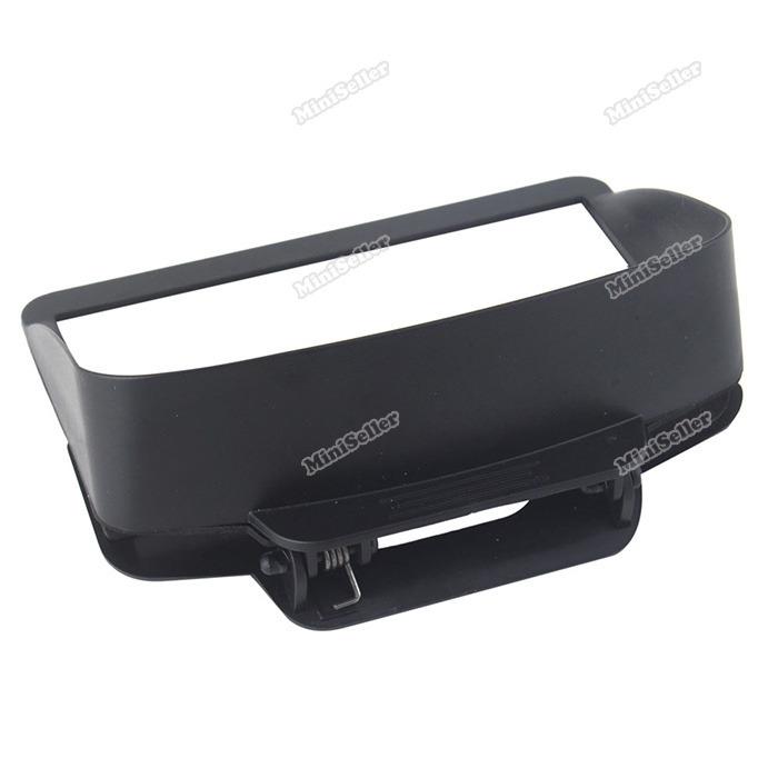 miniseller Super deals Universal Portable Anti Glare Lens Hood Sunshade 4.5~ 5 inch Car GPS Navigation Effectively!(China (Mainland))
