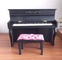 1/6 BJD Doll furniture european black piano - yosd