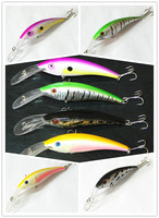 Promotion STOCK(12CM 15.6G)1pcs Fishing Lure trulinoya pesca Minnow Swimbait Crankbait isca artificial with hook for fishing s39