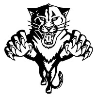 Car decal JDM funny big cat jumping tiger 12cm x 12cm motorcycle car truck ebike vinyl reflective waterproof stickers