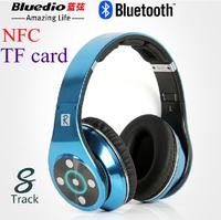 Bluedio R+ 8 Sound Tracks Bluetooth 4.0 NFC HiFi Headset Wireless Headphone AptX for iphone6 iphone5s samsung HTC Free Shipping