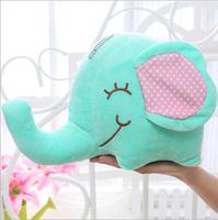 35cm Elephant Animal Plush Toy kids Baby Gift Home Wedding Decoration X-mas Gift Pillow