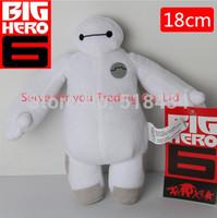 7'' 18cm Big hero 6 baymax plush ROBOT chrismas dolls  stuffed animals plush baby doll toy