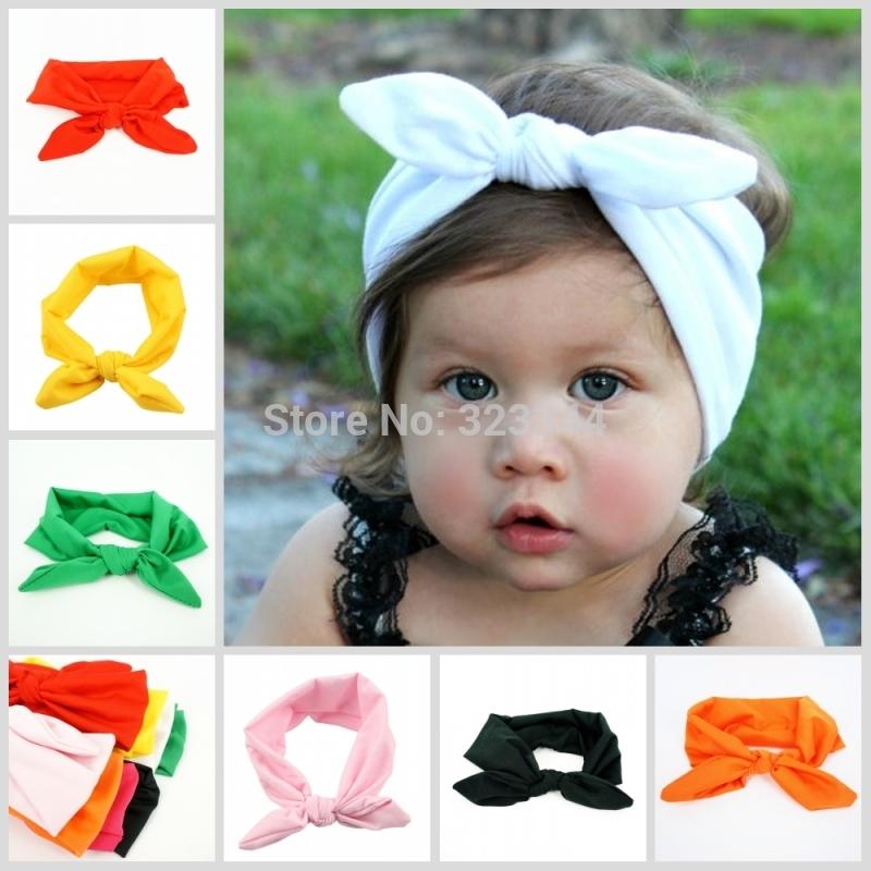 Ленты на голову для малышей своими руками