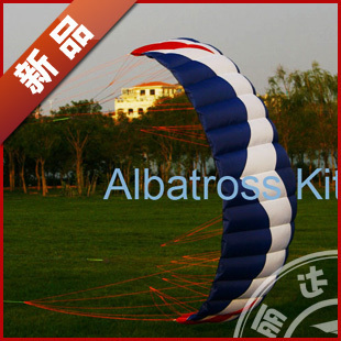 2014 NEW The 2 generation four line traction power of 5 square metre kite only kite(China (Mainland))