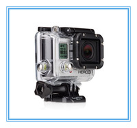 Waterproof case gopro3 housing with side opening without lens for hero 3 DROP SHIPPING