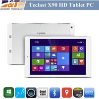 Original Teclast X90HD 8.9inch Winpad Tablet Intel Z3736 Quad Core Windows 8.1 2G RAM 32G ROM Retina 2560x1600 IPS Tablets PC