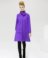 New Branded winter long section woolen jacket coat women
