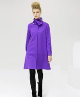 New Branded winter long section woolen jacket coat women