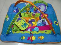 educational  music baby play gym mat  Infant floor rug