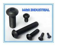 M4*55  M4x55 100pcs iso7380/DIN7380 Hexagon socket button head screw /BOLTGrade 10.9 FASTENER