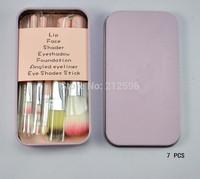 Sweet Pink  Cosmetic Brush   Makeup Brushes Set Wooden Makeup tool  ( 50 pcs/lot )