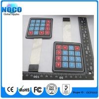 20pcs /Lot 4 x 4 Matrix Keypad Membrane Switch 8 pins connector SCM Outside enlarge Keypad For Arduino