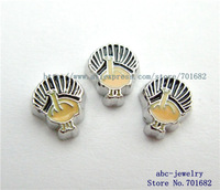 Turkey FC400 Mix Min order 10$ 20pcs zinc alloy wholesales floating charms for living locket as families friends gift