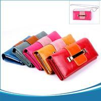 Fashion Designer 2014 Women Wallet Brand Design high quality Carteira Feminina  PU leather Desigual Wallet 5 colors  Free Ship