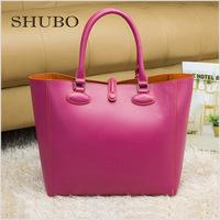 1:1 Famous Brand Design 2015 Bolsas Femininas Europe and America Women Fashion Genuine Leather Tote Bags Bolsos Mujer PRD51