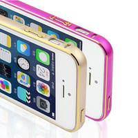 New Luxury Slim metal Aluminium Alloy Bumper Frame Case Cover for iPhone 5 5S